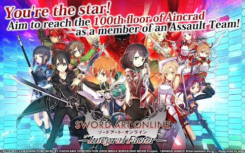 Sword Art Online: Integral Factor Mod Apk Android