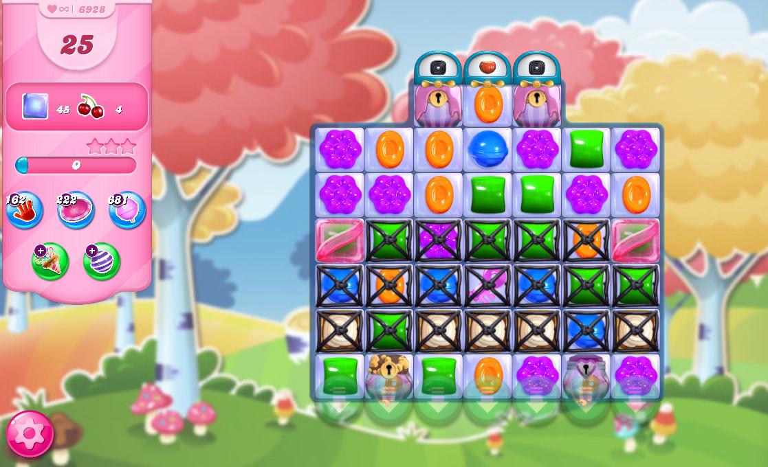 Candy Crush Saga level 6928
