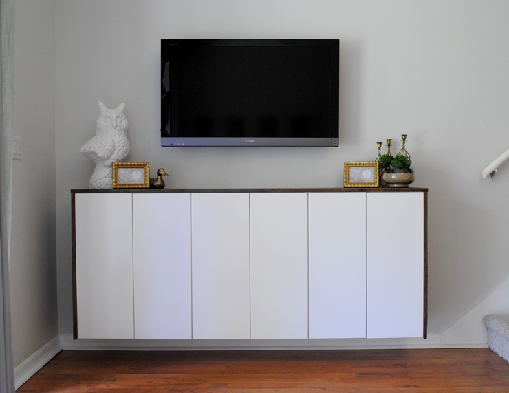 Ikea Kitchen Cabinets As Bedroom Storage