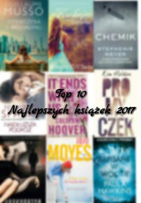 Top 10 przeczytanych książek w 2017roku