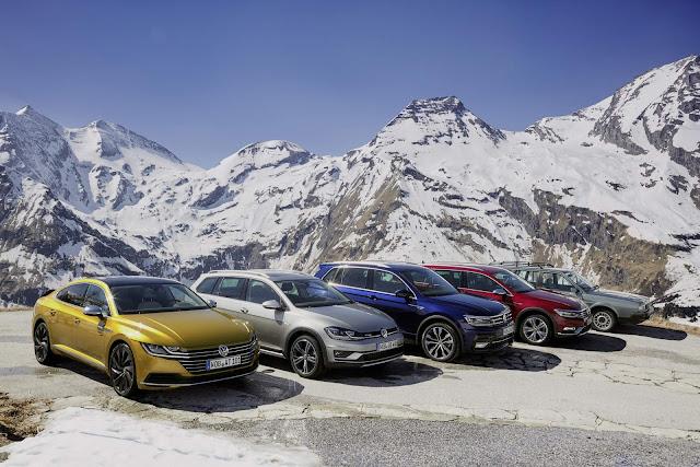Volkswagen comemora 35 anos do Passat 4x4