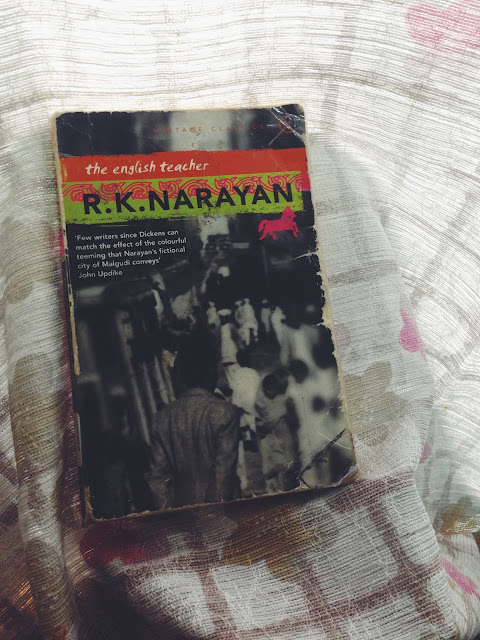 criticism on r k narayan s the english teacher The guide by rk narayan the god of small things indian literature in english role of women in kanthapura by raja rao.