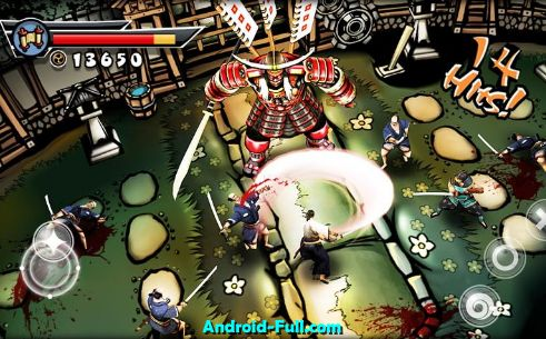 Samurai II vengeance Android apk game. Samurai II