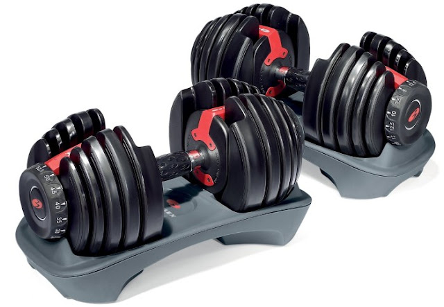 Bowflex® SelectTech® super heavy dumbbells