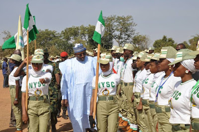 "See The ""Extraordinary"" Corper Who Won The Heart Of Bauchi Governor During POP.... Vloot4"