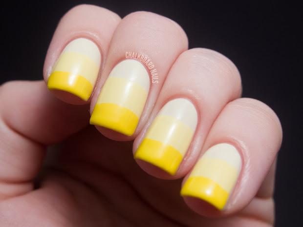 Yellow Nail Design Joy Studio