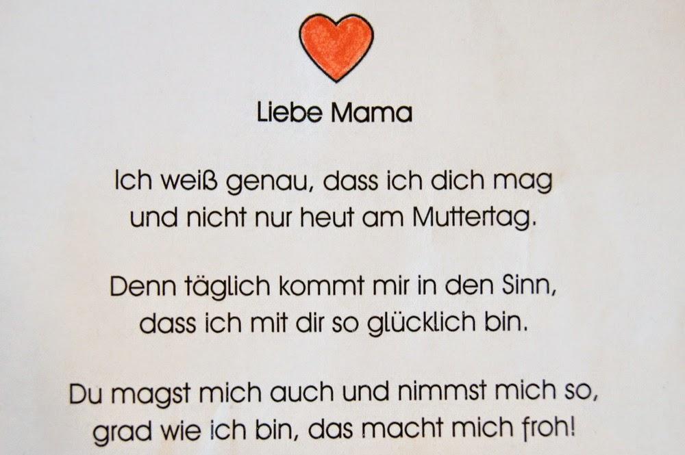 Gedichte an mama zum geburtstag