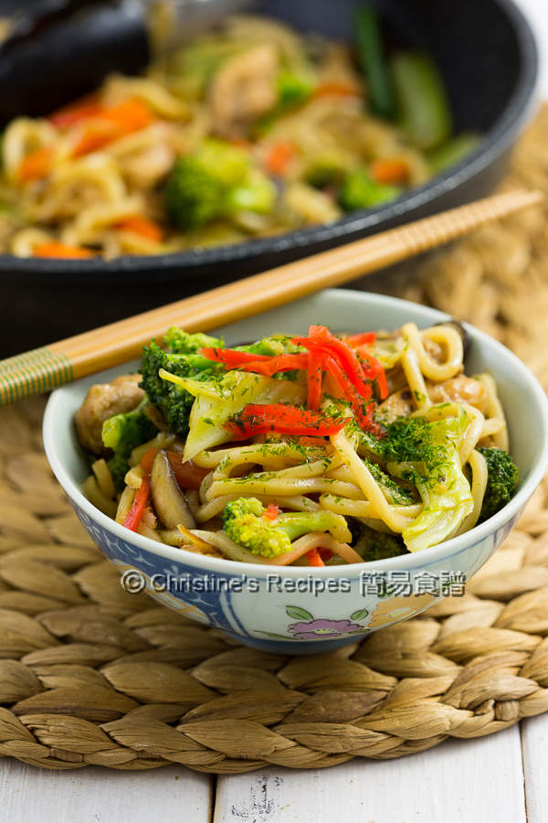 日式炒麵 Yakisoba Japanese Stir Fried Noodles03