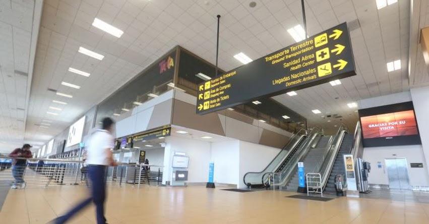 INGRESO AL AEROPUERTO JORGE CHÁVEZ: No es necesario llegar con más de 3 horas de anticipación, informó Lima Airport Partners - LAP