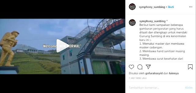 Berikut kami sampaikan beberapa gambaran persyaratan yang harus ditaati dan dilengkapi untuk mendaki Gunung Sumbing di era kenormalan baru ini