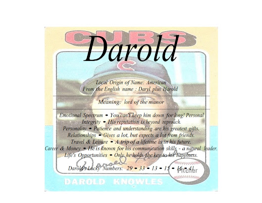 Meaning of the American male name Darold is lord of the manor