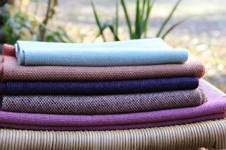 Мои шарфы, ткачество