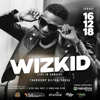 Wizkid Live In Concert