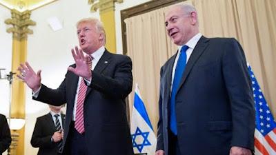 Trump visita Israel para retomar o processo de paz
