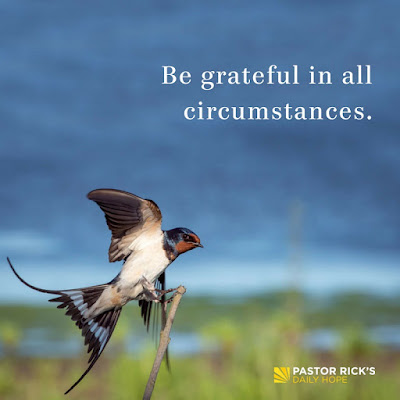 What Does It Mean to Have Radical Gratitude? by Rick Warren
