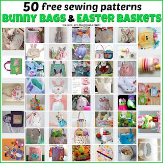 BunnyEasterBags wesens-art.blogspot.com