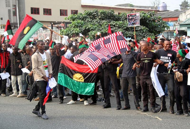Nigerian Police: Why we shot people at Trump-Biafran rally