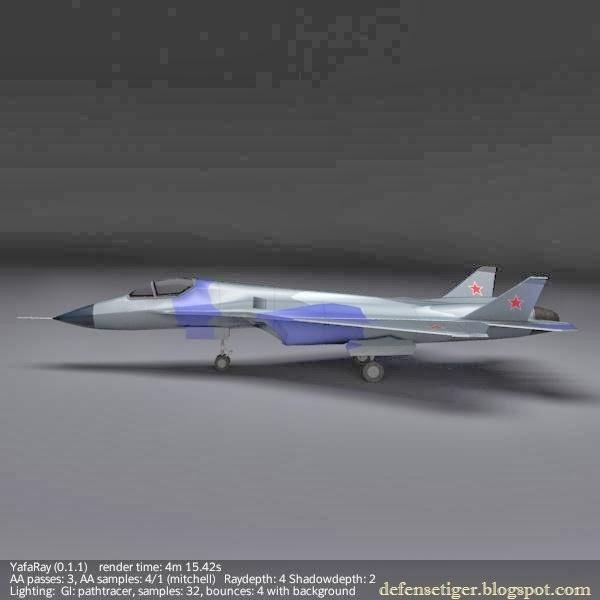 Defense Strategies: 3D Modeling Of Sukhoi T-50 PAK-FA