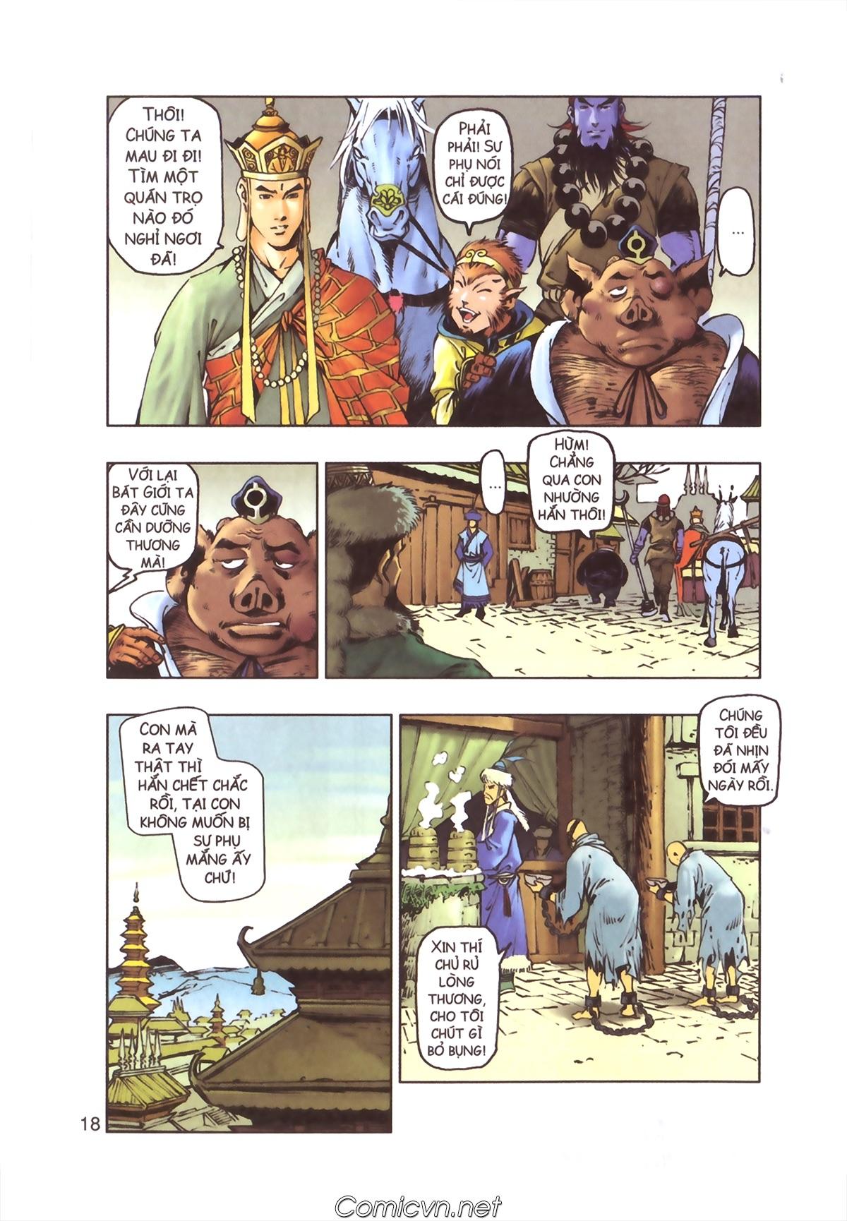 Tây Du Ký màu - Chapter 110 - Pic 16