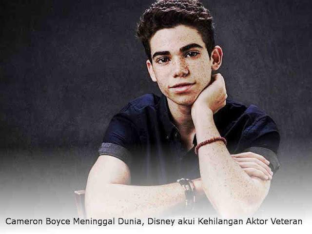 Cameron Boyce Meninggal Dunia, Disney akui Kehilangan Aktor Veteran