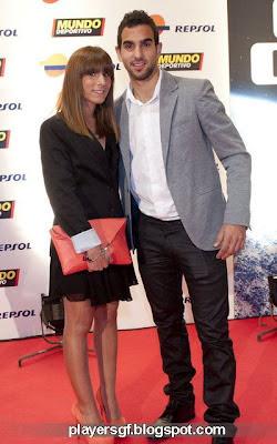 soccer player girlfriend of Martín Montoya