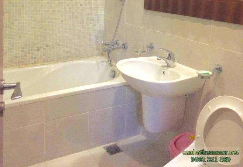 nhà tắm căn hộ the manor hcm