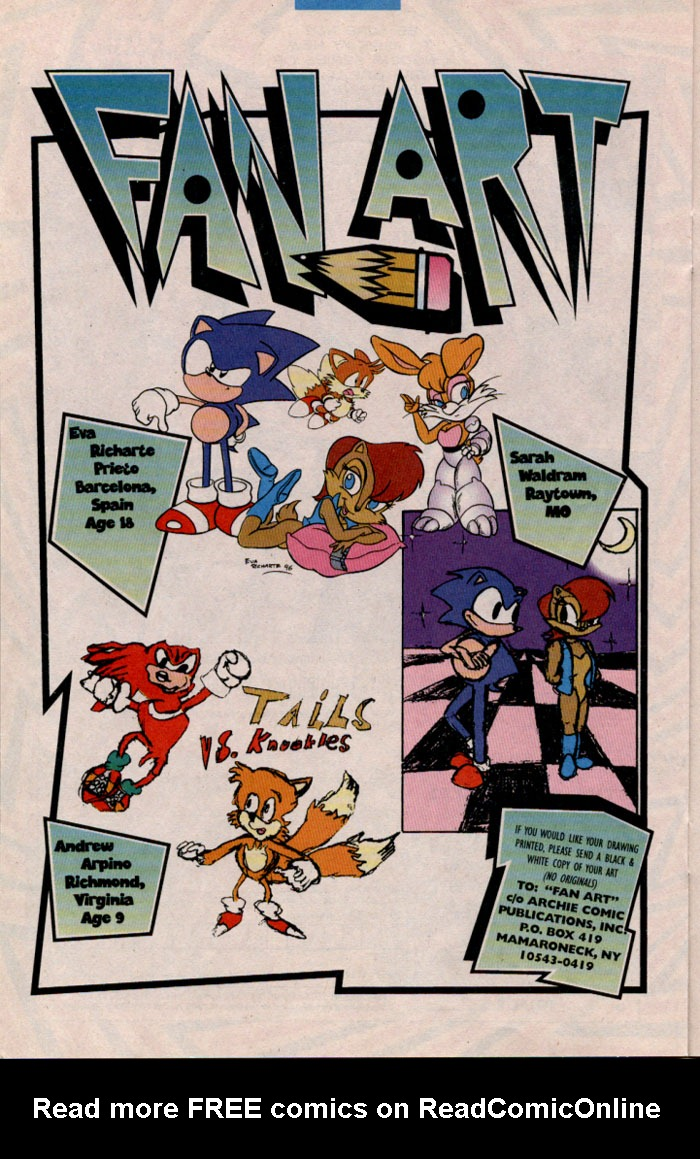 Read online Sonic The Hedgehog comic -  Issue #45 - 18