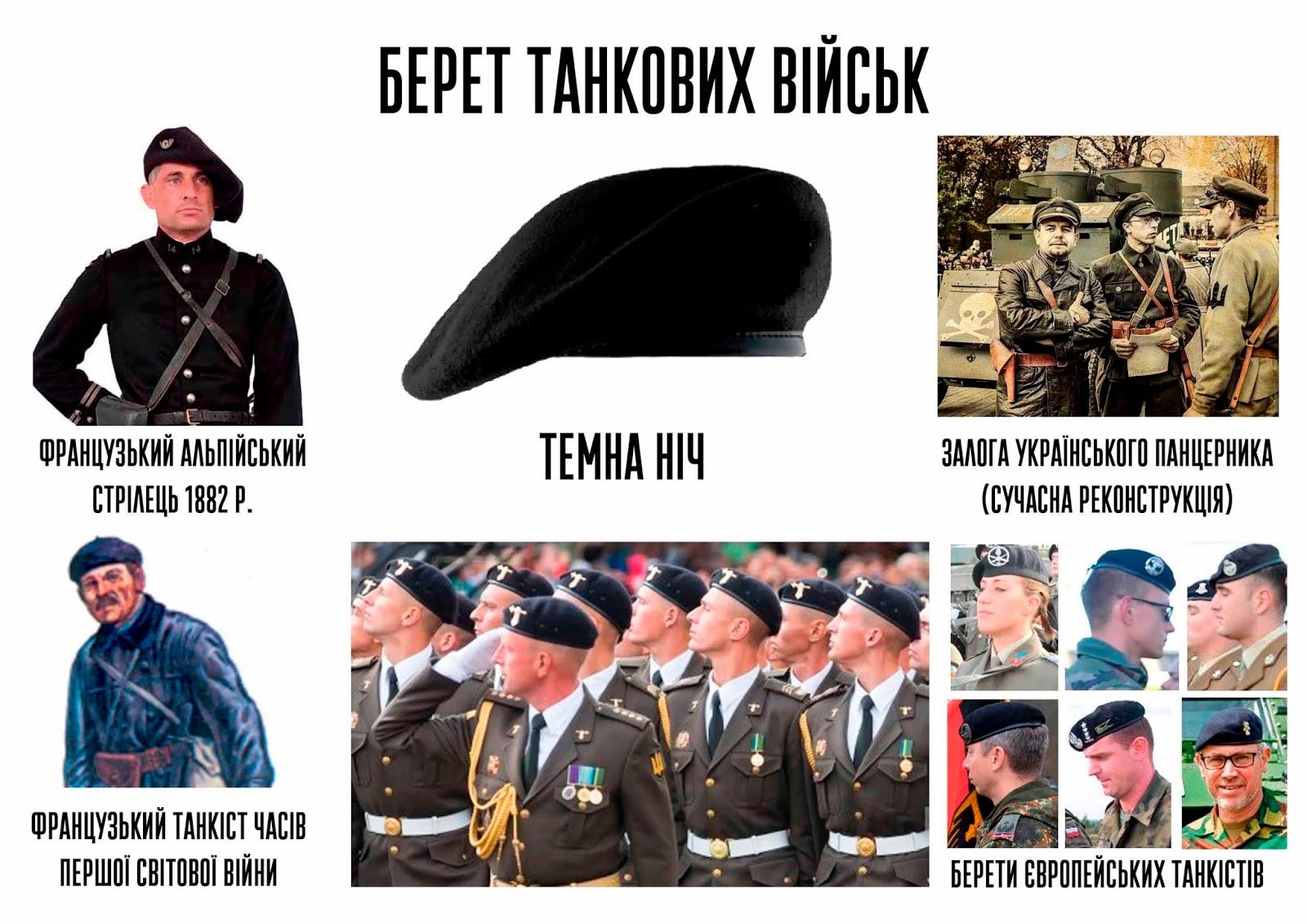 Про берети військовослужбовців Збройних Сил України