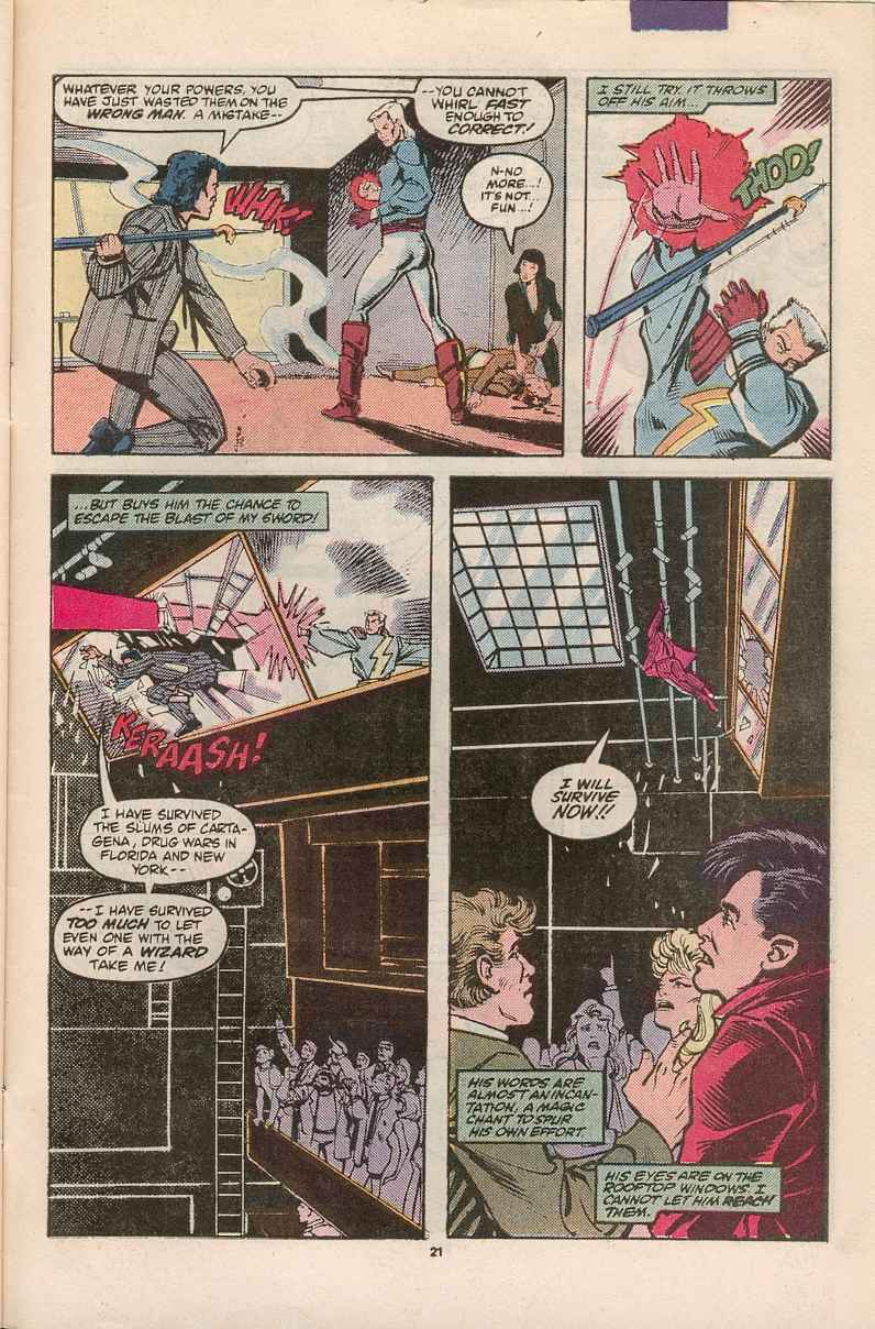 Read online Justice (1986) comic -  Issue #1 - 22