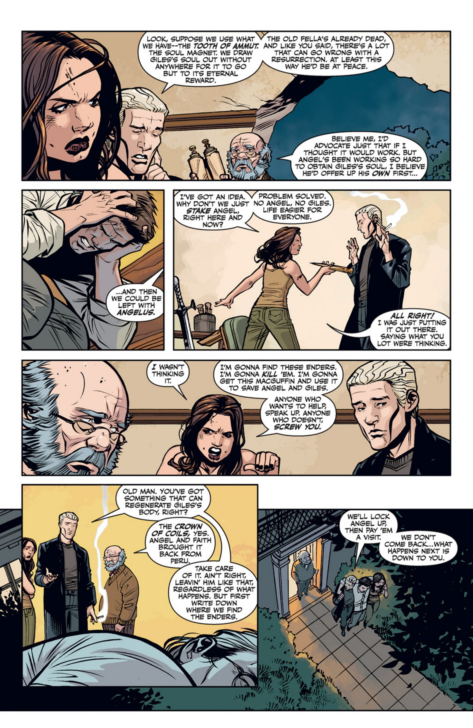 Read online Angel and Faith comic -  Issue #20 - 7