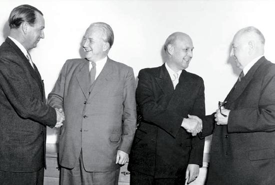 Lufthansa founders 1953