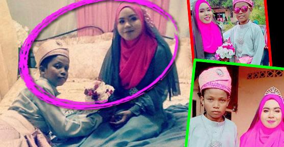 Kenyataan Pahit di Balik Foto Pernikahan 'Bocah' Ini Bikin Nangis