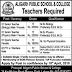 Aligarh Public School And College Lahore Jobs