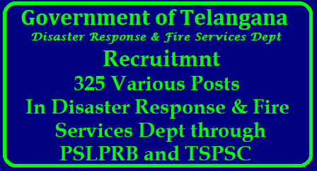 TS Finance Dept Approved To Fill 325 Posts In Telangana Fire Department TS Finance Dept Approved To Fill 325 Posts In Telangana Fire Department | GO MS No 38 Recruitment of 325 Various Posts in Telangana Fire Service - Details | TSPSC–Orders–Issued-go-ms-no-38-recruitment-of-325-various-posts-telangana-disaster-response-fire-services-TS-Finance-Dept-Approved-to-fill-In-Telangana-Fire-Department2018/04/TSPSC-Orders-Issued-go-ms-no-38-recruitment-of-325-various-posts-telangana-disaster-response-fire-services-TS-Finance-Dept-Approved-to-fill-In-Telangana-Fire-Department.html