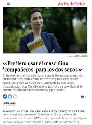 Manual de comunicación escrita en ceremonial y protocolo. Olga Casal