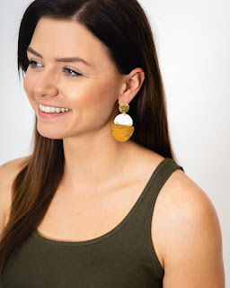 TOH Trinity Drop Earrings hostess reward #brandpartner