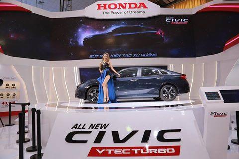 Honda Civic VTEC Turbo mới đã chính thức ra mắt sáng nay!