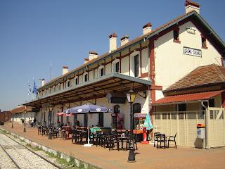 Αποτέλεσμα εικόνας για Σιδηροδρομικος σταθμος Δραμας Σιδηροδρομικά Νέα