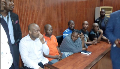 Evans and other suspects