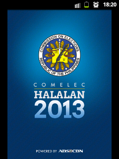 Halalan 2013, latest update on Halalan 2013, Latest, May 2013 Election, Philippines, Politics, Voters precinct verification, 2013 Philippine Election, Android, mobile phone,tablet, Halalan 2013 updates