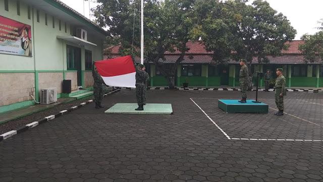 Upacara Bendera Minggu Militer Tingkatkan Rasa Nasionalisme Prajurit TNI AD
