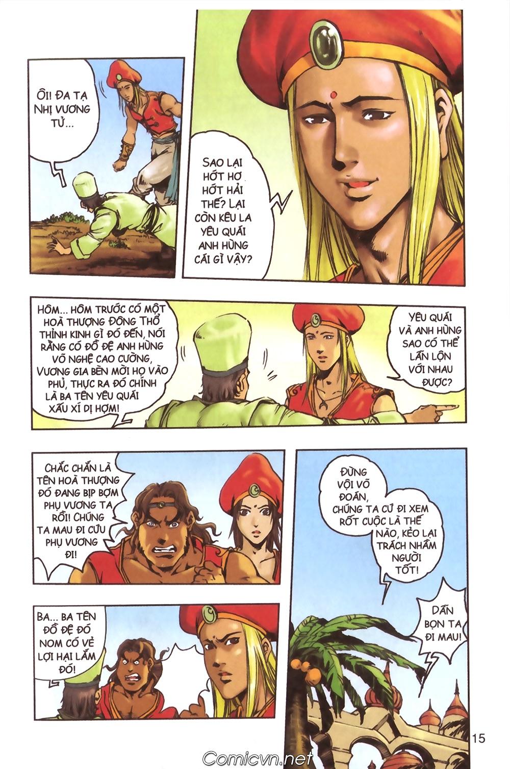 Tây Du Ký màu - Chapter 124 - Pic 12
