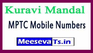 Kuravi Mandal MPTC Mobile Numbers List Warangal District in Telangana State