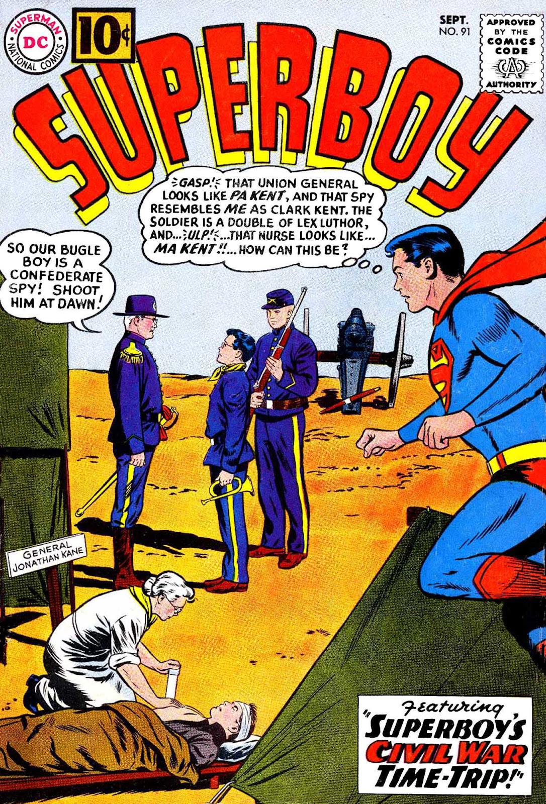 Superboy (1949) issue 91 - Page 1