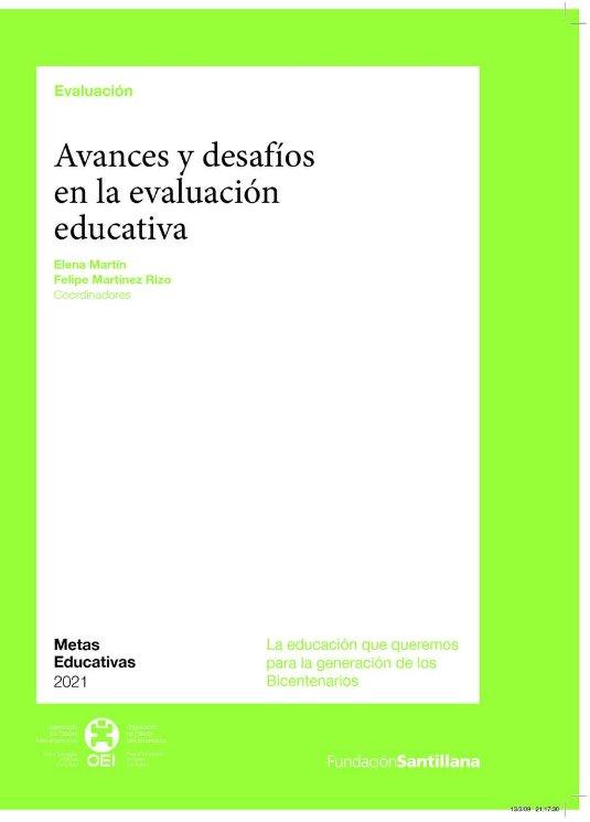 Avances y desafíos en la evaluación educativa – Elena Martín