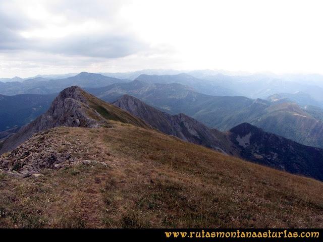 Ruta Ventaniella, Ten y Pileñes: Bajando del Pileñes