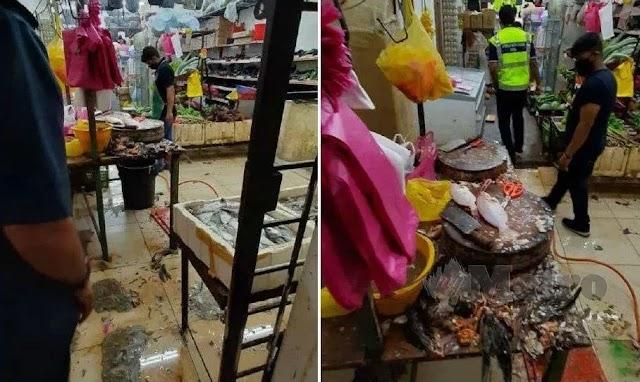 """""""Menjijikan!"""" - Pasar mini kotor warga asing ditutup"""