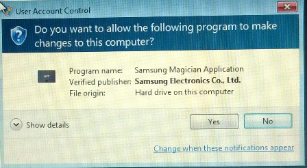 Unsolicited Question: Should I install Samsung Magician 4 with my