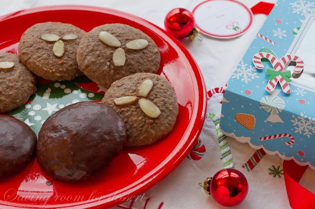 Lebkuchen - German Spice Cookies
