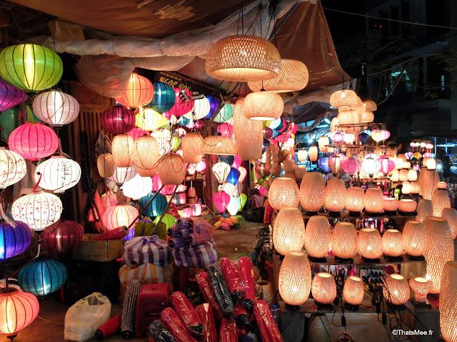 marche nuit lampion hoi an vietnam